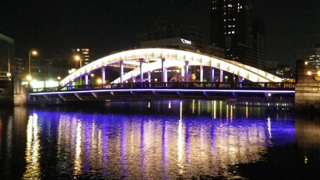 堂島橋ライトアップ